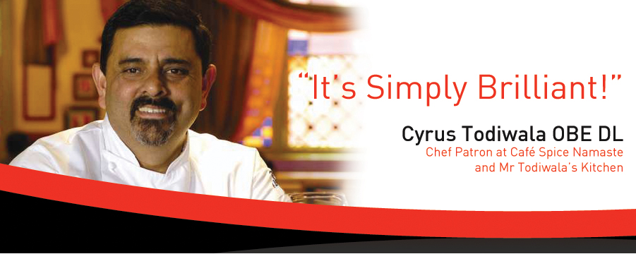 Cyrus Todiwala Endorsement
